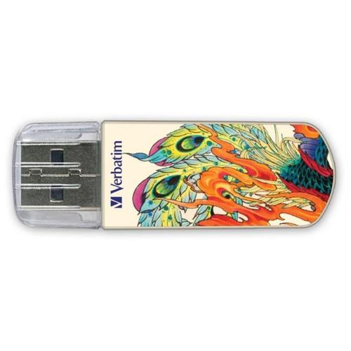 Флешка Verbatim Store 'n' Go Mini USB Drive 8 GB феникс