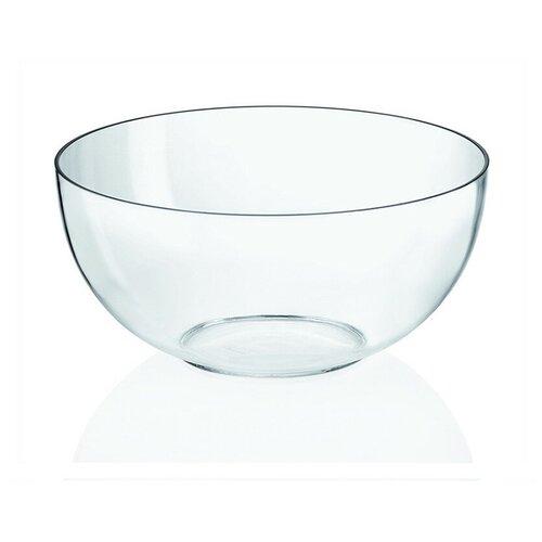 Миска для салата, 2,5 л, прозрачная