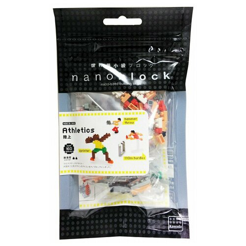 Конструктор Nanoblock Sport NBCB-002 Легкая Атлетика