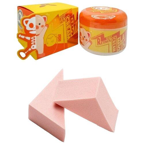 Купить Elizavecca Milky Piggy EGF Elastic Retinol Cream Крем для лица + 2 спонжа, 100 мл