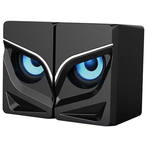 Компьютерная акустика Qumo Rage черный