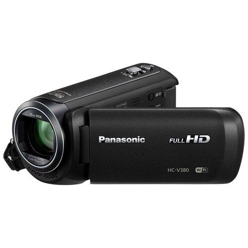 Фото - Видеокамера Panasonic HC-V380 черный видеокамера panasonic hc mdh3e black