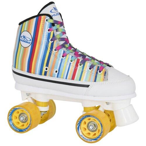 Роликовые коньки HUDORA Candy Stripes 13054 р. 40 роликовые коньки hudora denim 13014 р 40