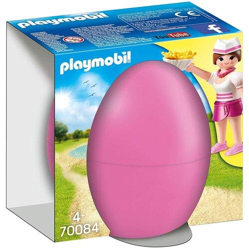 Купить Конструктор Playmobil Accessories 70084 Официантка из закусочной, Конструкторы
