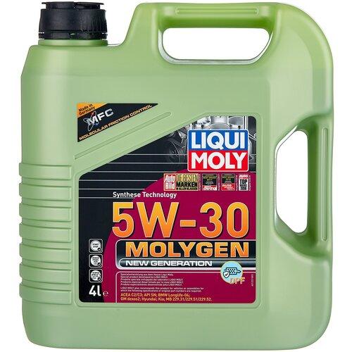 Фото - Синтетическое моторное масло LIQUI MOLY Molygen New Generation DPF 5W-30, 4 л моторное масло liqui moly molygen new generation 10w 40 4 л