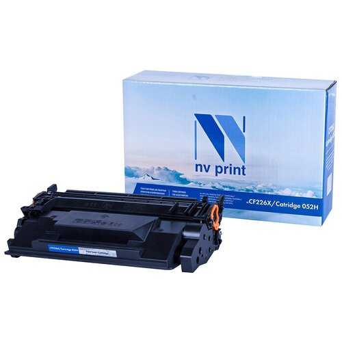 Фото - Картридж NV Print CF226X/052H для HP и Canon, совместимый картридж nv print cf400a для hp совместимый