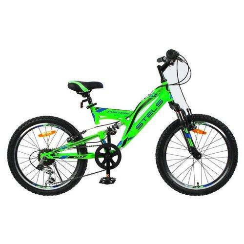 Велосипед 20 Stels Mustang V, V010, цвет зеленый, размер 13 6581345 велосипед stels 2612 v