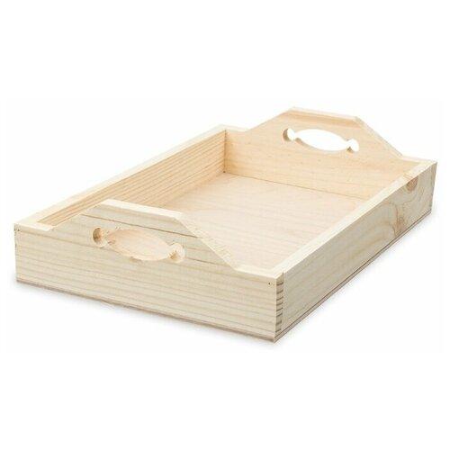 Купить Mr. Carving Заготовка для декорирования Поднос №2 ВД-650 бежевый, Декоративные элементы и материалы
