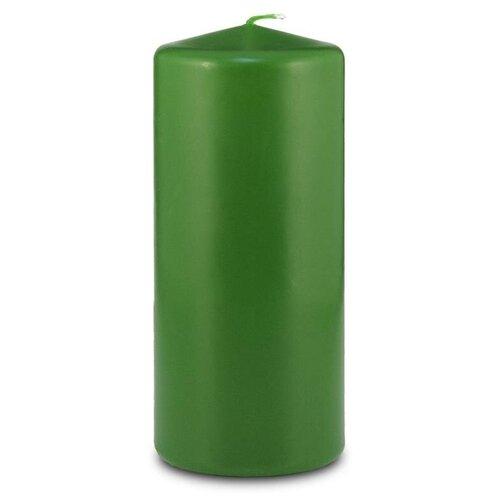 Свеча Омский Свечной Пеньковая 7 х 17 см темно-зеленый