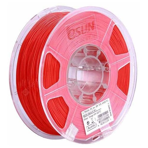 Филамент eSun ABS+ (пластиковая нить АБС+) для 3D принтеров Anycubic, Anet, Wanhao, Ender и др, 1.75 мм, мажента, 1 кг, ABS+175M1