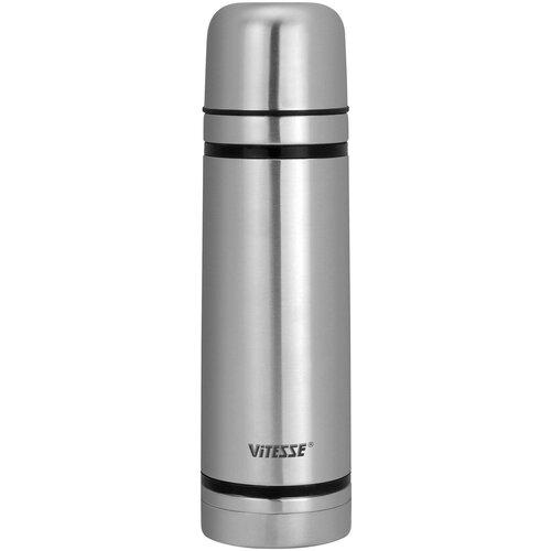 Классический термос Vitesse VS-2629, 1 л серебристый