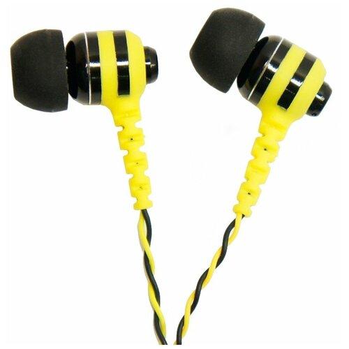 Наушники Fischer Audio Wasp, yellow