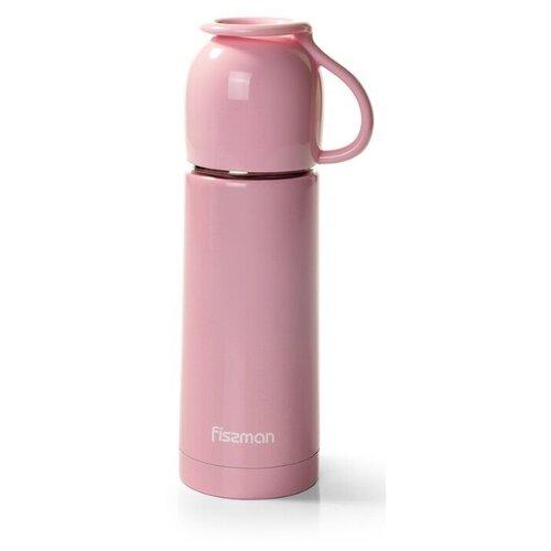 Классический термос Fissman Angel, 0.35 л розовый