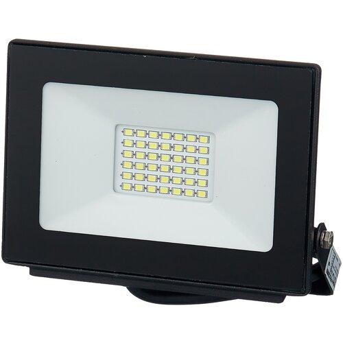 Прожектор светодиодный 30 Вт LLT СДО-5-30 PRO (30Вт 6500К 2250Лм) светодиодный светильник без эпра llt ссп 158 16вт 230в 6500к 1100лм 550мм ip65 llt 57 х 6 см