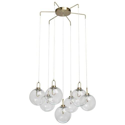 Люстра светодиодная De Markt Крайс 657011307, LED, 35 Вт люстра de markt 657011307 7 5w led