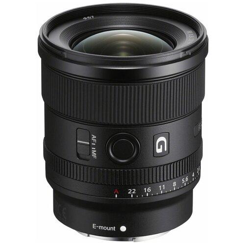 Фото - Объектив Sony FE 20 мм f/1.8 G (SEL20F18G) черный аккумулятор ansmann 5022933 05 схожий с olympus fe 150 fe 160 fe 190 fe 20