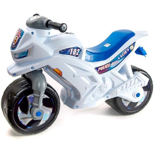 Купить Каталка-толокар Orion Toys Мотоцикл 2-х колесный (501В3) белый, Каталки и качалки