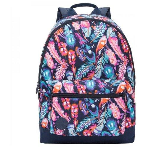 Рюкзак Grizzly RX-022-8/1 (перья) рюкзак grizzly rx 022 8 1 перья