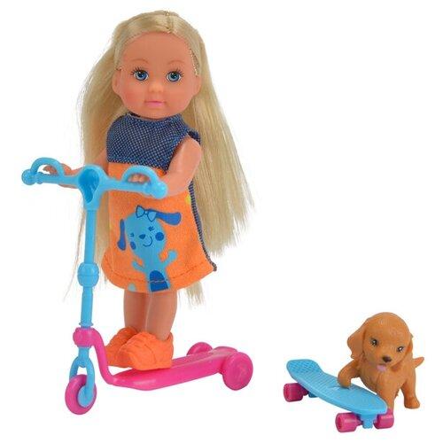 Кукла Simba Еви на скутере, 12 см, 5732295