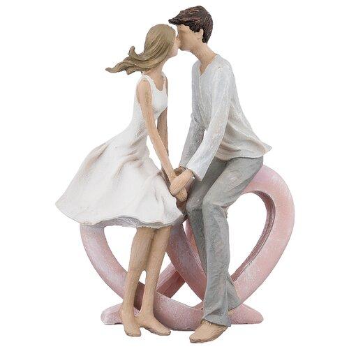 Фото - Статуэтка влюбленные 17х9х23 см серия фьюжн Lefard (162-518) статуэтка lefard йога серия фьюжн 13 5х7х18 5 см 162 700