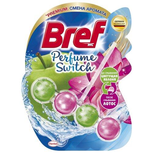Bref туалетный блок Perfume Switch Цветущая яблоня и лотос, 0.05 кг недорого