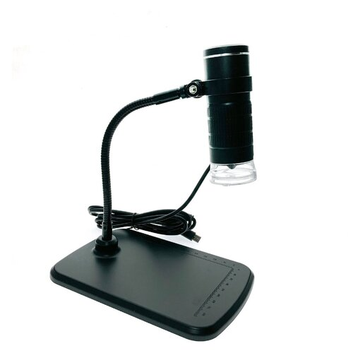 Портативный цифровой USB-микроскоп с подставкой ESPADA SU1000x c камерой 0,3 МП и увеличением 1000x