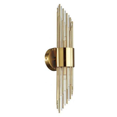Фото - Настенный светильник Odeon Light Flambi 4847/2W, G9, 80 Вт настенный светильник odeon light foscara 4719 2w 80 вт