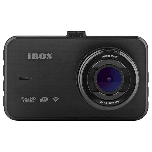 Видеорегистратор iBOX Optic WiFi Dual, черный
