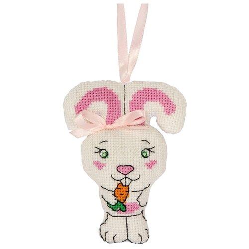 Купить PANNA Набор для вышивания крестиком Игрушка, Зайка 8 x 10.5 см (IG-1452), Наборы для вышивания