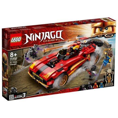 Купить Конструктор LEGO NinjaGo 71737 Ниндзя-перехватчик Х-1, Конструкторы