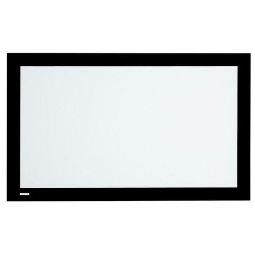 На раме матовый белый экран Digis VELVET DSVFS-16903L