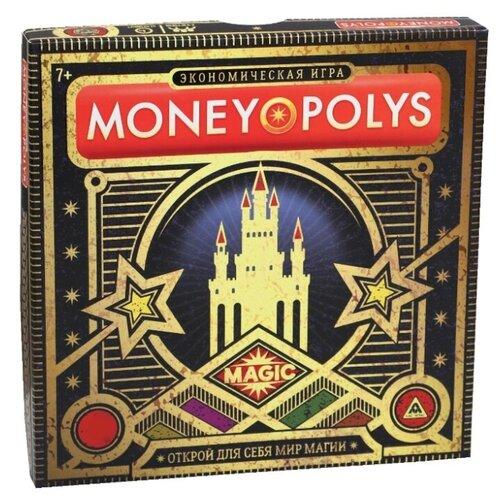 Купить ЛАС ИГРАС / Детская игра / Обучающая игра / Семейная игра / Экономическая игра MONEY POLYS. Magic , 7+, Лас Играс, Настольные игры