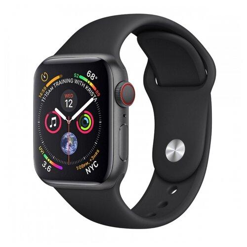 Сменный ремешок Nuobi Original для Apple Watch, Черный 38/40 mm сменный ремешок nuobi для apple watch 38 40mm черный