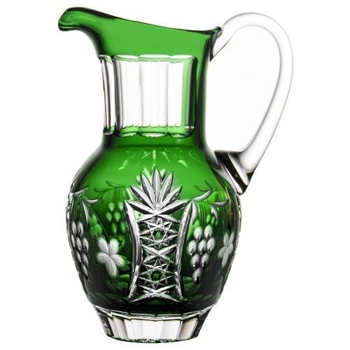 Кувшин Ajka Crystal Grape 1.2 л emerald
