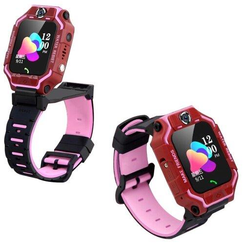 Часы детские Smart Baby Watch X6 розовые часы smart baby watch q70