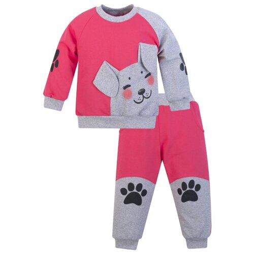 Купить Комплект одежды Утенок размер 98, малина/меланж, Комплекты и форма
