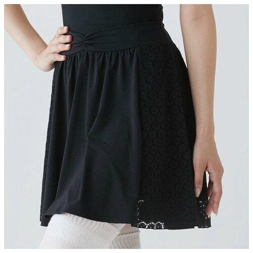 Юбка балетная кружевная Chacott - 009 (чёрный)