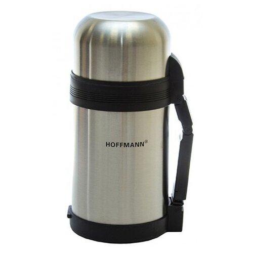 Классический термос Hoffmann НМ-2110, 1 л серебристый