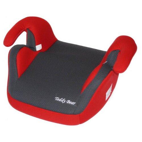 Купить Бустер группа 3 (22-36 кг) Мишутка LB 311, red/black dot, Автокресла