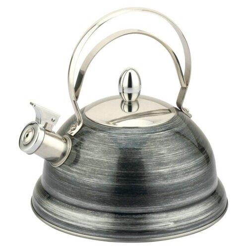 Фото - Pomi d'Oro Чайник со свистком Napoli P-650194, серый чайник со свистком pomi d oro pss 650019