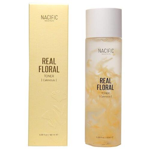 Купить Nacific Успокаивающий тонер с лепестками календулы для чувствительной кожи Real Floral Toner Calendula, 180мл