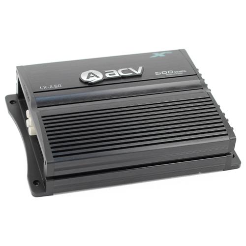Фото - Автомобильный усилитель ACV LX-2.60 усилитель автомобильный acv zx 1 1800d черный [32070]