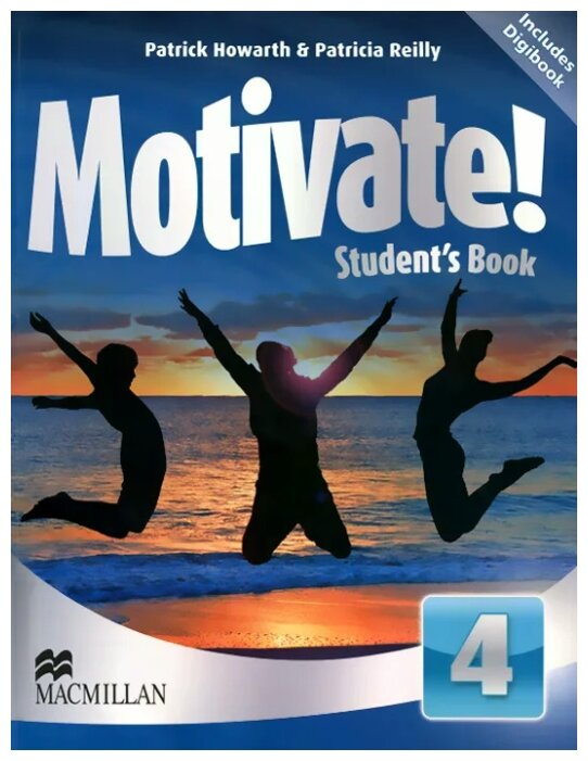 "Howarth Patrick ""Motivate! Student's Book Pack: Level 4 (+ CD-ROM)"""