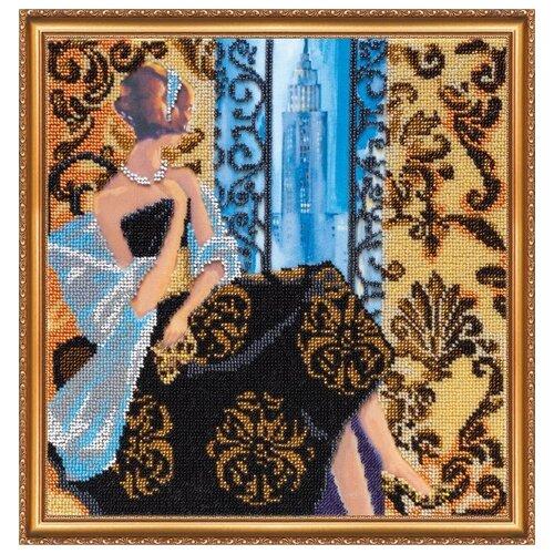 Купить Набор для вышивания бисером АБРИС АРТ AB-276 Окно в Нью-Йорк 30х30 см, ABRIS ART, Наборы для вышивания