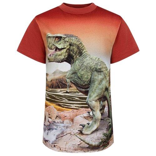 Купить Футболка Molo Road Dinosaurs размер 110, dinosaurs, Футболки и майки