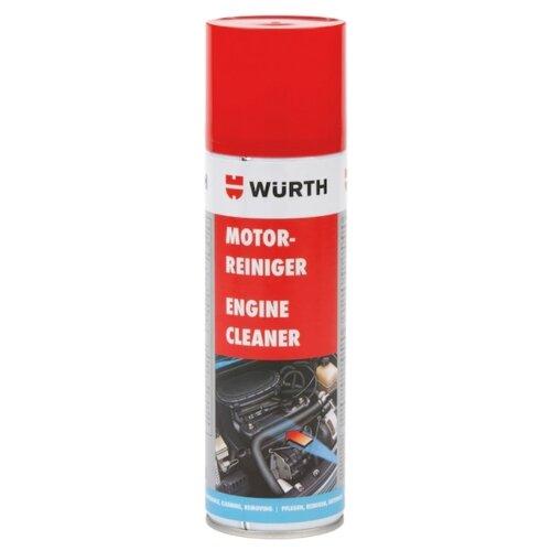 Фото - Очиститель двигателя WURTH 089023 0.3 л баллончик очиститель двигателя abro dg 300 r 0 51 кг баллончик