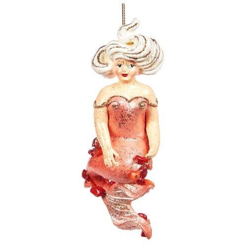 Елочная игрушка Goodwill Русалка 13 см (B 94371) розовый.