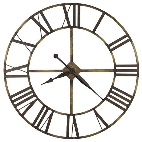 Часы настенные кварцевые Howard Miller Wingate коричневый