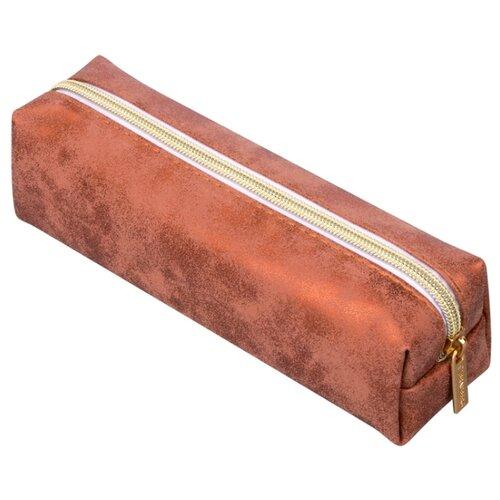 Купить BRAUBERG Пенал-косметичка Luxury бронзовый, Пеналы