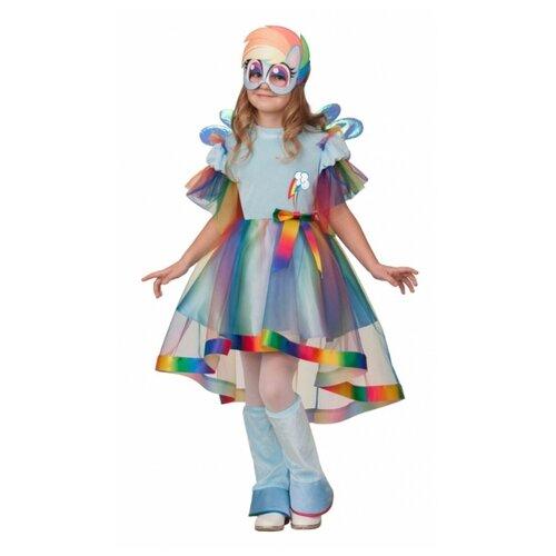 Купить Костюм Батик Радуга Дэш (21-23), разноцветный, размер 134, Карнавальные костюмы
